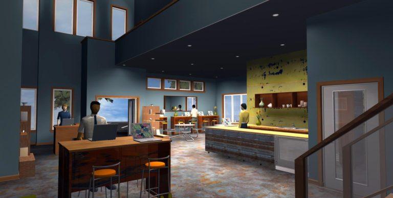 Cafe Final Rendering